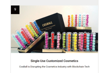 """COSBALL ranked 2nd in the """"Top 100 Tech Trends for 2020."""""""